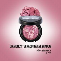 Pentru un look plin de eleganta alege Diamonds Terracotta Eye Shadow Pink Diamond! Indiferent daca o aplicam cu pensula umeda sau uscata, aceasta ne va scoate in evidenta feminitatea.  http://www.flormarcosmetics.ro/ochi/fard-de-ochi/diamonds-terracotta-eye-shadow--8690604083831.html