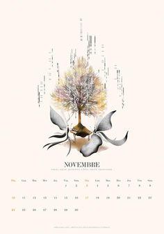 2013 calendar November/Noembre
