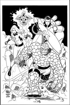 Fantastic Four by Mike Wieringo