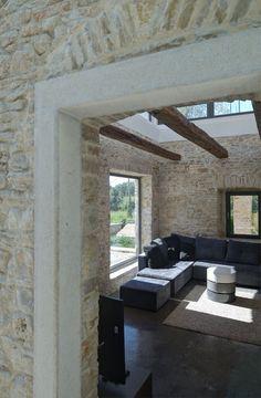 Villa Martinuzzi, Pola_Croatia | A Modern Reconstruction Of An Old Stone House - Architectural office: TOBIS-inzenjering_Zadar-Zagreb