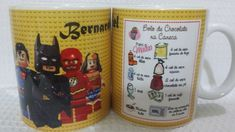 Caneca Personalizada Lego Lego, Internet, Layout, Tableware, Cellophane Wrap, Personalized Mugs, Satin, Tape, Boxes