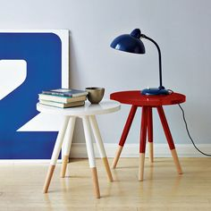 another idea for cheap walmart side table dipped-furniture-for-the-home Dipped Furniture, Painted Furniture, West Elm Side Table, Paint Dipping, Interior Decorating, Interior Design, Nordic Interior, Home And Deco, Cool Chairs