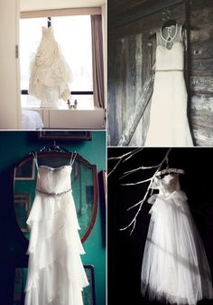 Make sure you get this shot, a detail of the wedding dress!