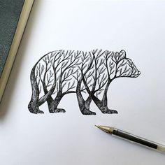 Bear Tree but add flowers