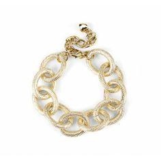 GORGEOUS GOLD LINK BRACELET Sole Society - Link Bracelet