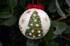 0ca360c466a 26 mejores imágenes de ideas con bolitas de plumavit para navidad ...