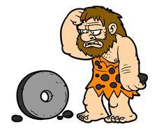 NEOLÍTICO     Durante el Neolítico, el Homo Sapiens debe convivir con cambios naturales y climáticos . Cada vez más rápido, cuentan ellos,... Interactive Timeline, Early Humans, Cartoon People, Stone Age, Stick Figures, Clipart, Easy Drawings, Painted Rocks, Scooby Doo