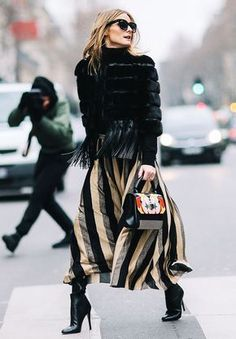 How to Look Chicer Every Day, According to Olivia Palermo via @WhoWhatWearUK #streetstylefashion,