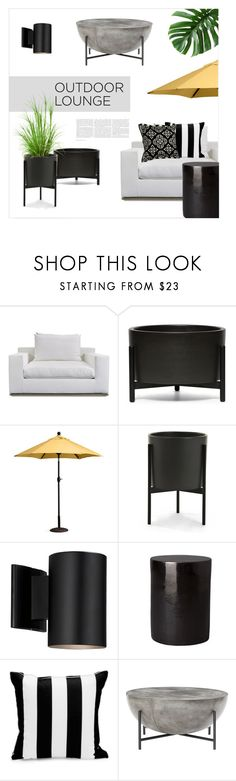 """""""Outside space"""" by magdafunk ❤ liked on Polyvore featuring interior, interiors, interior design, home, home decor, interior decorating, Harbour Outdoor, Modernica, Improvements and Better Homes and Gardens"""
