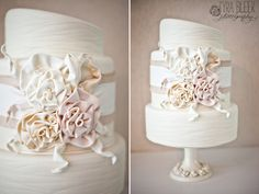 Love the asymmetry of this cake!