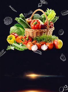 Fruits and vegetables poster background food poster – Dinner Food Food Graphic Design, Food Menu Design, Food Poster Design, Vegetable Shop, Vegetable Prints, Asian Vegetables, Fresh Vegetables, Fruit And Veg Shop, Organic Food Online