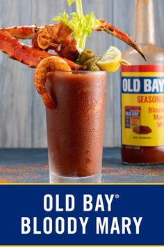 Summer Drinks, Fun Drinks, Beverages, Bloody Mary Recipes, Best Bloody Mary Recipe, Bloody Mary Mix, Liquor Drinks, Vodka Drinks, Cocktail Drinks