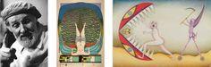 Friedrich Schröder-Sonnenstern (Lituania, 1892-1982) vivió una juventud conflictiva que transcurrió entre reformatorios y asilos. Más tarde fue declarado enfermo mental. Empezó a dibujar durante una estancia en la cárcel en 1949, animado por un artista.