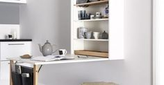 Idea about Home Office Apartment : Table Plus by Magnet kitchens