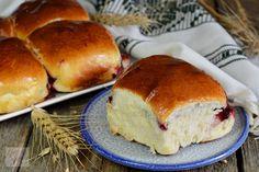 Bucte cu gem de visine - CAIETUL CU RETETE Deserts, Bread, Food, Romanian Recipes, Sweets, Desserts, Meal, Dessert, Brot
