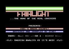 [CSDb] - Fairlight Intro (the Legendary one) by Fairlight (1987)