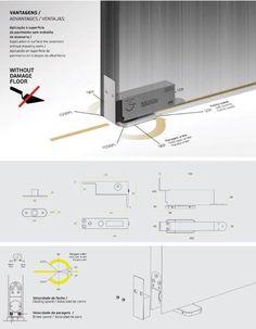 Bouwbeslag: Sales in Style luxury hardware agency Home Id, Concealed Hinges, Pivot Doors, Construction Drawings, Door Detail, Aluminium Doors, Metal Shop, Door Hinges, House Roof