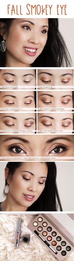 cute & little blog | fall makeup tutorial | laura geller delectables palette