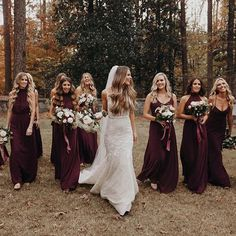Bridesmaids in Merlo