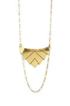 Trumbar Necklace by Cam & Zooey on @HauteLook