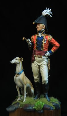 Hello guys, As you already know, all figures from Dog's Life serie come in pairs. They are all like two sides of the same medal. British Uniforms, Hobbies For Men, Military Figures, Empire, Military Gear, Miniature Figurines, Horse Drawn, Napoleonic Wars, American Revolution