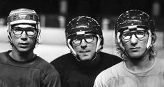 Hanson Brothers (before Slap Shot)! Bruins Hockey, Ice Hockey, Nhl, Hockey Highlights, Hanson Brothers, Slap Shot, Hockey Rules, Hockey Training, Hockey World