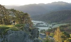 10 of the best walks in the Lake District. View from Castle Crag, Borrowdale, Lake District. Cumbria, Cool Places To Visit, Places To Travel, Lake District Holidays, Lake District Walks, Hadrian's Wall, English Countryside, Kew Gardens, The Guardian