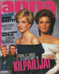 Finlandesa Anna Revista 14/1987 Princesa Diana & Sarah Ferguson