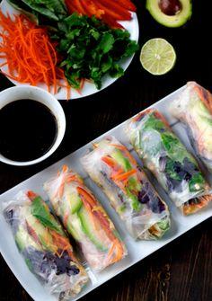 Salade rolls
