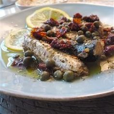 Sardines with Sun-Dried Tomato and Capers - Allrecipes.com