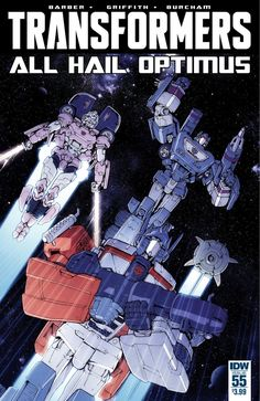 The Transformers Issue #55 Full Comic Preview - All Hail Optimus