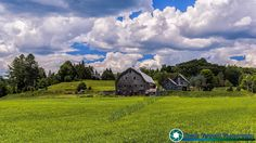 Vermont Dairy Farm near Barnet Vermont. Before the leaves turn and fall off the trees.  #Vermont #vermont #newenglandphotography #newengland #landscape #newengland_photography #ScenicVermontPhotography #ScenicVermont  Feel free to visit my website - http://ift.tt/2aTNg7U