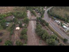 West Longmont/Lyons - Aerial Footage 9/13/13