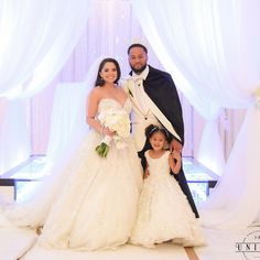 Our happily ever after!  My husband and my daughter have my whole heart ❤️ #4everENLove16