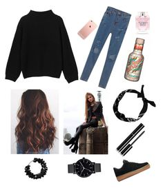 """""""My Style ❤️"""" by anne-chocho-wanin ❤ liked on Polyvore featuring Monki, NIKE, First People First, Chanel, Victoria's Secret and The Horse"""