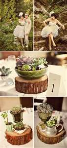 Jenny + Jeff's Vintage Whimsy Wedding is part of Terrarium wedding - Happy Monday! We have lots of great things to share this week This past weekend I attended the BList, and had a chance to se Succulent Centerpieces, Wedding Centerpieces, Wedding Table, Rustic Wedding, Our Wedding, Dream Wedding, Wedding Decorations, Wood Centerpieces, Wedding Ideas