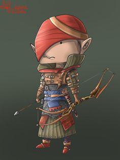 Chibi Iorwetch from Witcher 2 by rengekaren.deviantart.com on @deviantART