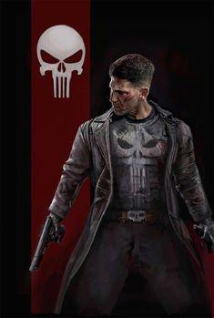 The Punisher, Marvel Netflix Marvel Comic Character, Comic Book Characters, Marvel Characters, Marvel Movies, Daredevil Punisher, Punisher Logo, Punisher Tattoo, Punisher Netflix, Punisher Skull
