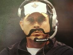 "WHO DAT!!!  Everyone meet our interim Saints head coach, ""Jose Paytonez"". He is supposed to be an offensive genius too. We are going to be fine"