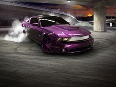 pictures of purple mustangs - Google Search