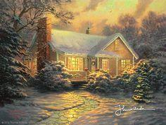 Thomas Kinkade - Christmas Cottage (Movie Release)  2007