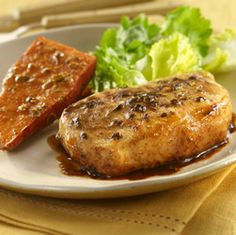 Maple Mustard Pork with Sweet Potatoes