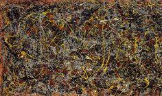 No. 5, 1948, de Jackson Pollock Esta pintura de Jackson Pollock é o quadro mais caro da história. O pintor americano terminou-o em 1948. Pollock ficou conhecido pelas suas influências no movimento do expressionismo abstracto.