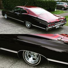 1967 Impala from Carnales New Zealand #cragars #lowrider #carnalesnz