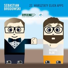 Zapraszamy na Warsztaty click apps. Zaprezentujemy nowe narzędzie do pozyskiwania leadów z konkursów, które powstało dzięki współpracy SARE i click apps.  Więcej: http://on.fb.me/YgI83T