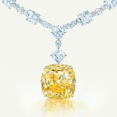 Will you be dazzling in #diamonds at your #wedding events? Necklace by @tiffanyandco  #yellowdiamond #jewelry #luxury #necklace #shaadibazaar #wedding #indianwedding
