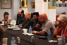 Orthodox, Catholic priests use dinner table to bridge ancient rift