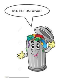 W.O.: Bundel afval - De juffrouw zegt