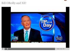 "Click through for the video of Bill O'Reilly's ""Tip of the Day"" about Xocai's Xe Energy Drink!  Want some?  Let me know!"