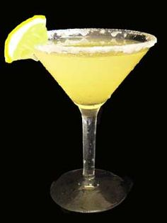 Lemon Drop Mixed Drink